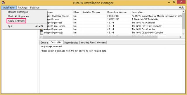 mingw-gcc-install-11