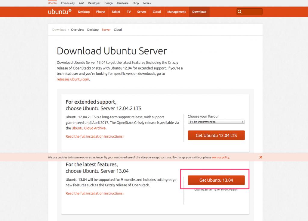 Ubuntu 1304raring ringtail linux webkaru get ubuntu 1304isoubuntu 1304 server amd64o voltagebd Images