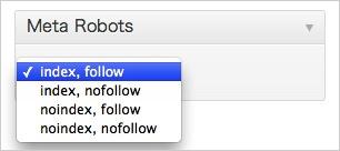 記事ごとにmetaタグのrobotsが設定できるWPプラグイン「WordPress Meta Robots」