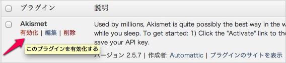 WPプラグイン「Akismet」のAPIキーの取得方法と有効化08